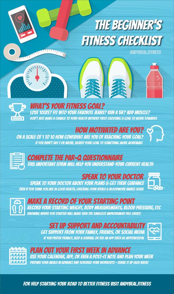 The Beginner's Fitness Checklist